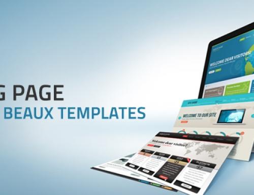 Landing page : les 5 plus beaux templates !