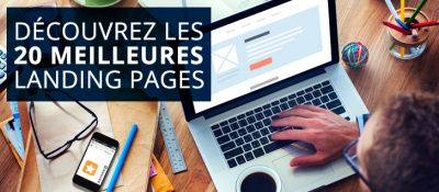 meilleures landing pages