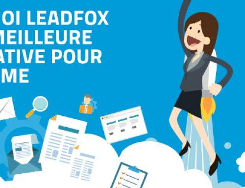 Pourquoi LeadFox est LA MEILLEURE alternative pour votre PME