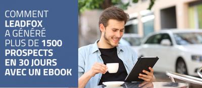générer prospect ebook