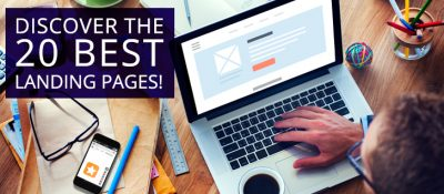 20 best landing pages