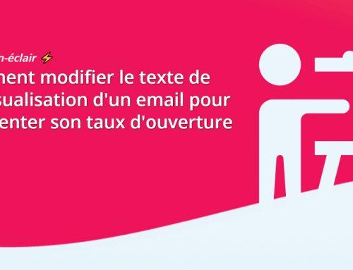 Formation-éclair : Modifier le texte de prévisualisation d'un email pour augmenter son taux d'ouverture