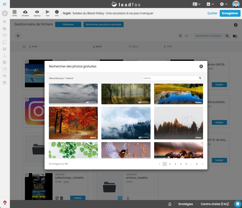 6- bannière exemple images editor leadfox