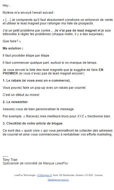 6- image emailng echange courriel