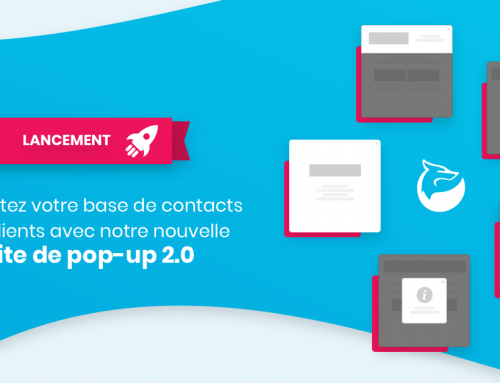 Lancement de la suite de pop-up 2.0