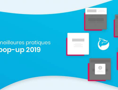 Les meilleures pratiques pop-up en 2019