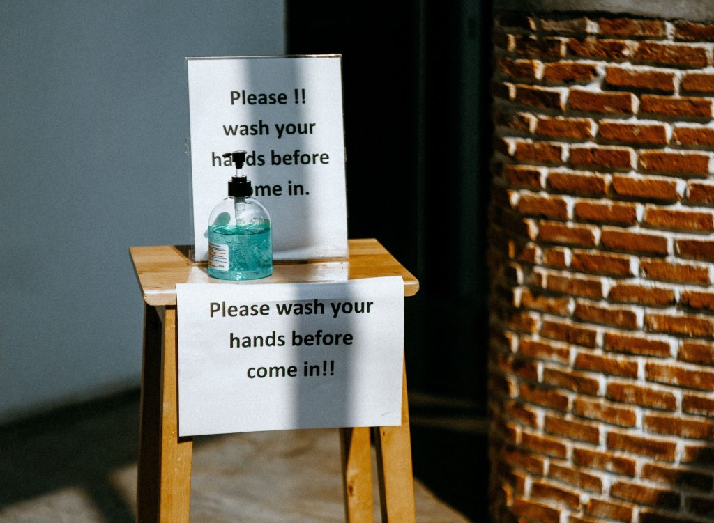 Communiquer les mesures d'hygiène prises en temps de Coronavirus