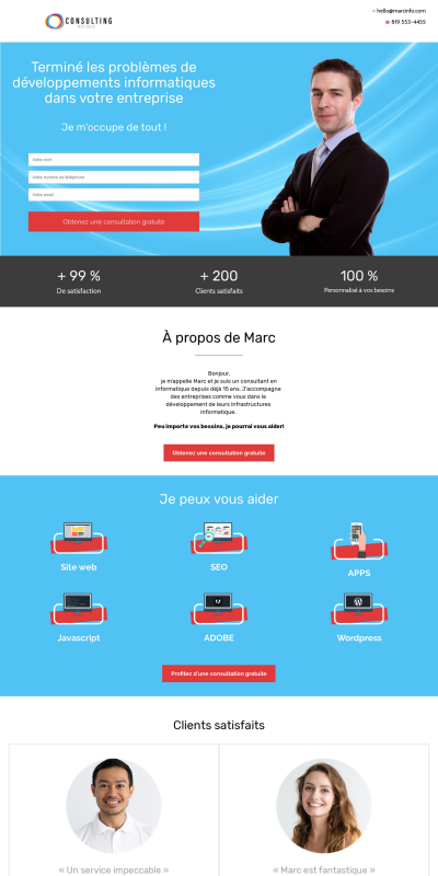 page-informatique