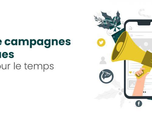 5 idées de campagnes numériques à lancer pour le temps des fêtes